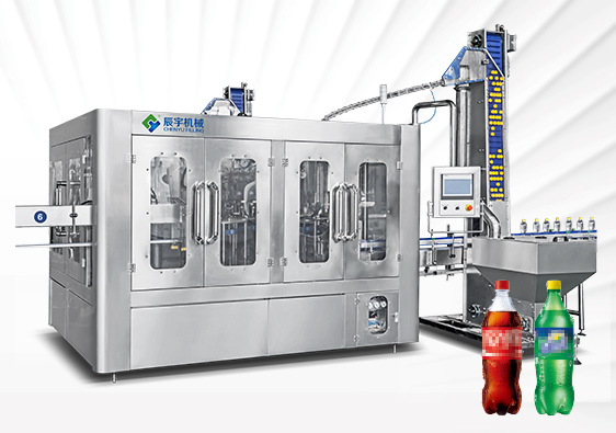 PET Bottle Soft Drink Filling Equipment
