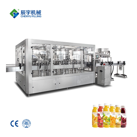 4 In 1 Fruit Juice Filling Production Line
