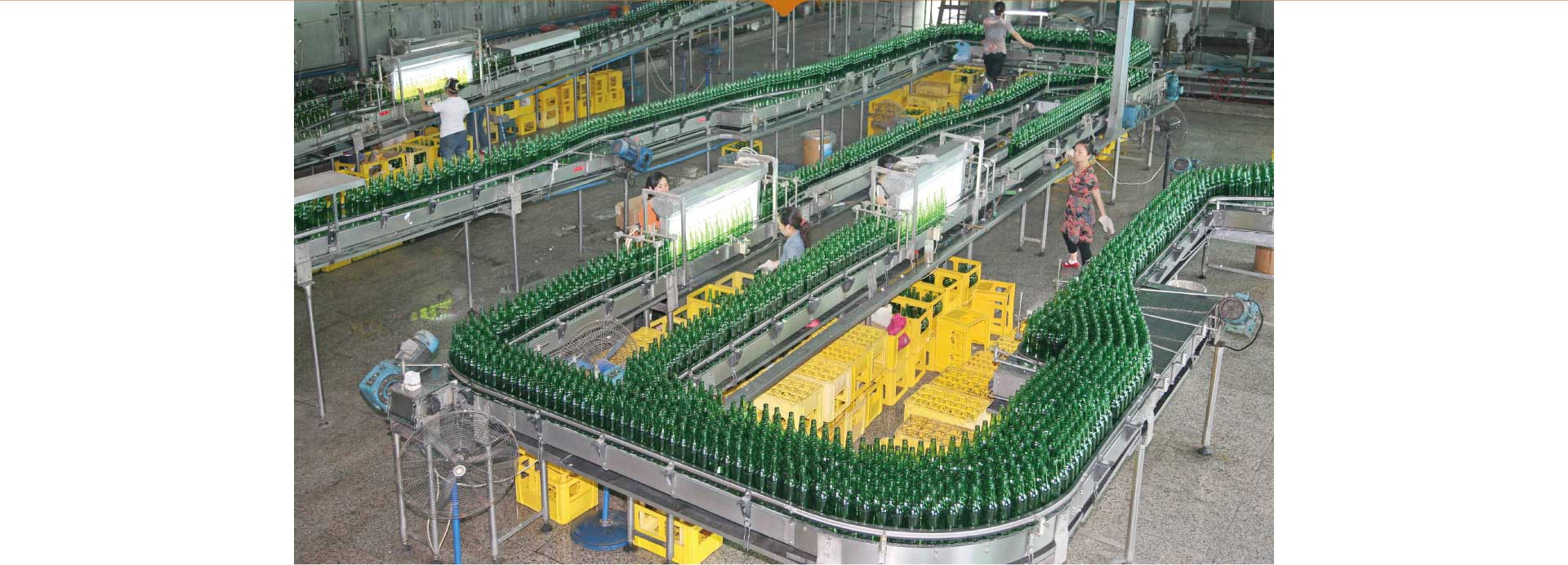 Whole Line Solution of Beer Filling Production Line