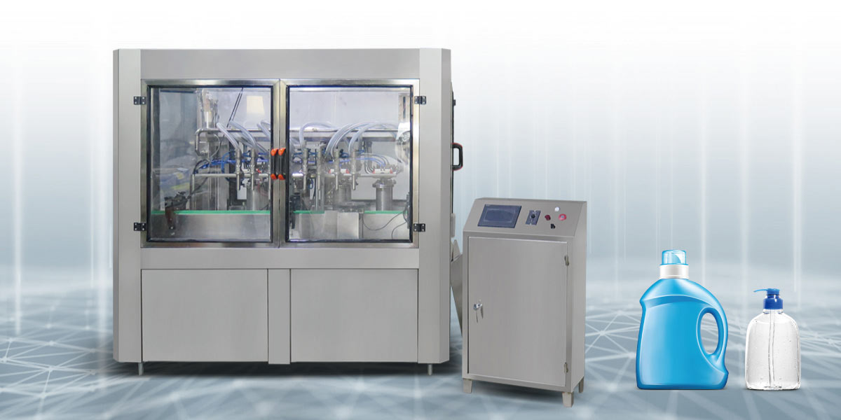 Linear Daily Chemical Filling Production Line