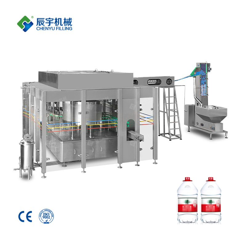 3 In 1 Drinking Water Filling Machine