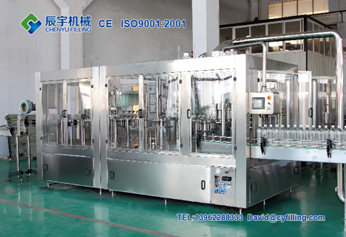 3 In 1 Carbonated Beverage Filling Machine