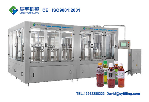 Automatic 3 in 1 Juice Beverage Filling Machine
