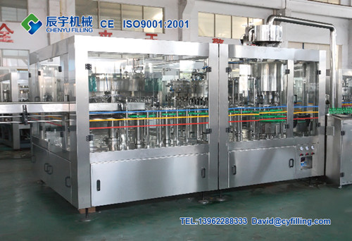 Automatic Mineral Water Filling Machine