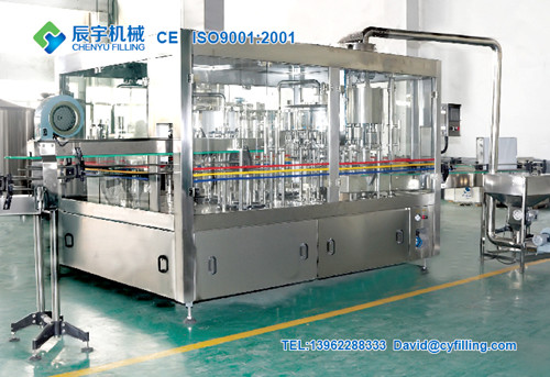 Automatic 3 In 1 Drinkning Water Filling Machine
