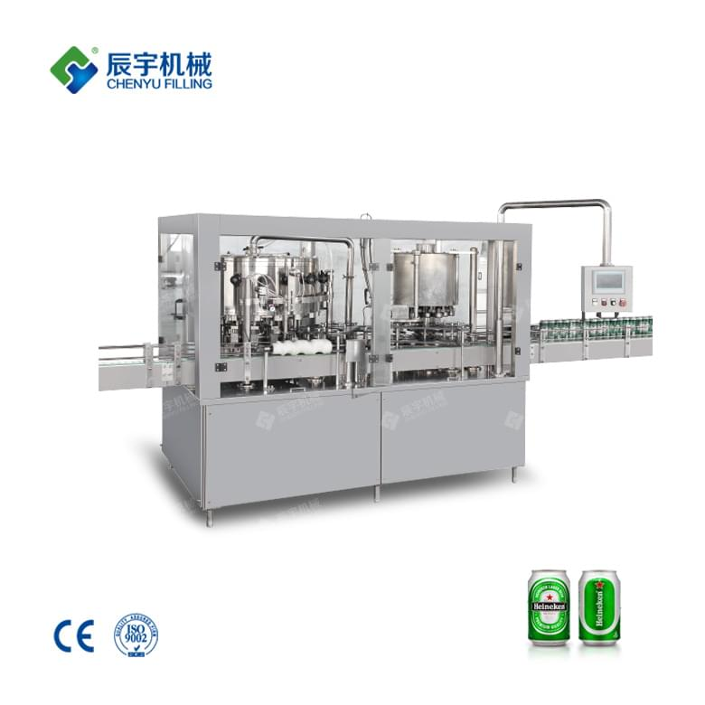 Automatic Beer Canning Machine