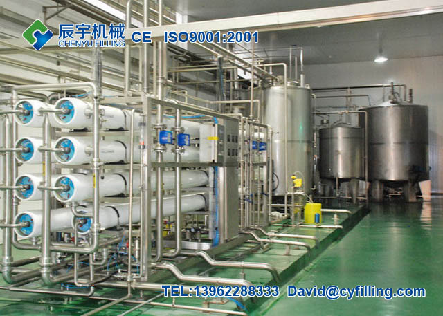 Pure water purification system (RO)