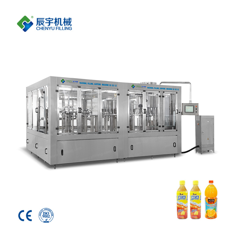 RCGF32-32-12 Tea Beverage Filling Equipment