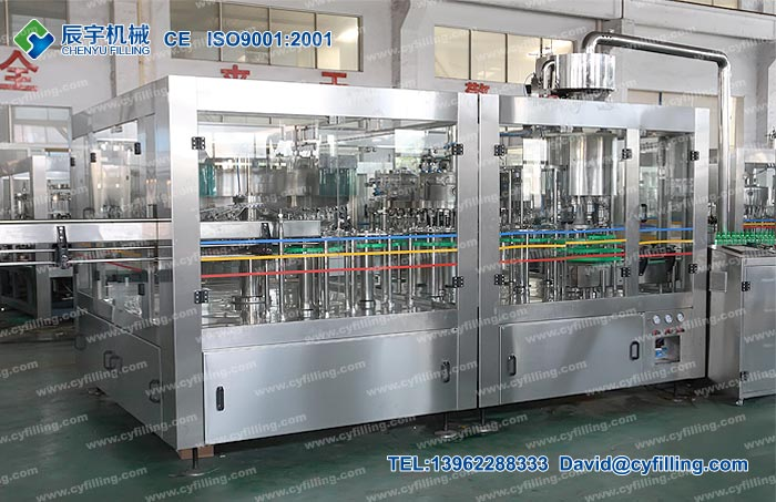 PET Bottle Water Filling Machine