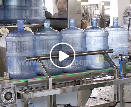 QGF Barreled Water Production Line Video
