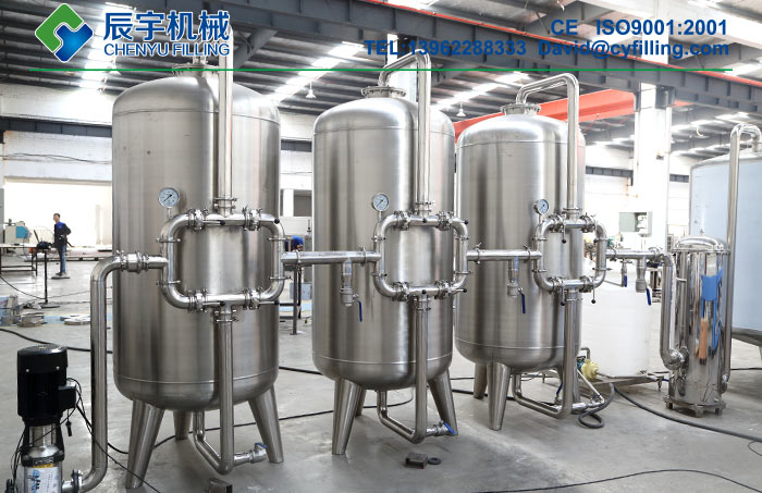 Beverage Water Treatment System