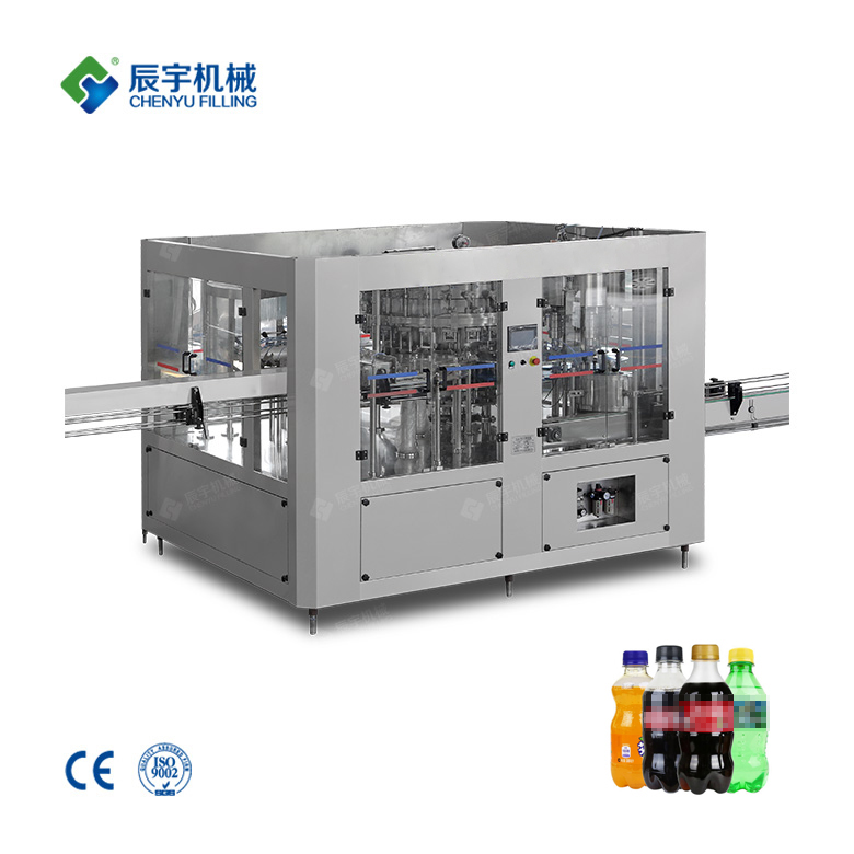 DCGF24-24-8 Carbonated Beverage Bottle Filling Machine