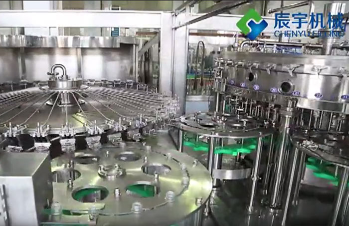 Condiments Water Filling Machine