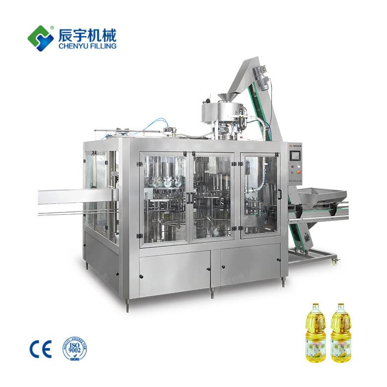 CY24-8 Edible Oil Filling Machine