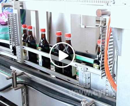 Flavoring Thick Liquid Filling Machine Video