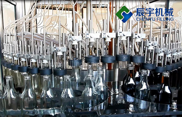 Flavoring Thick Liquid Filling Machine