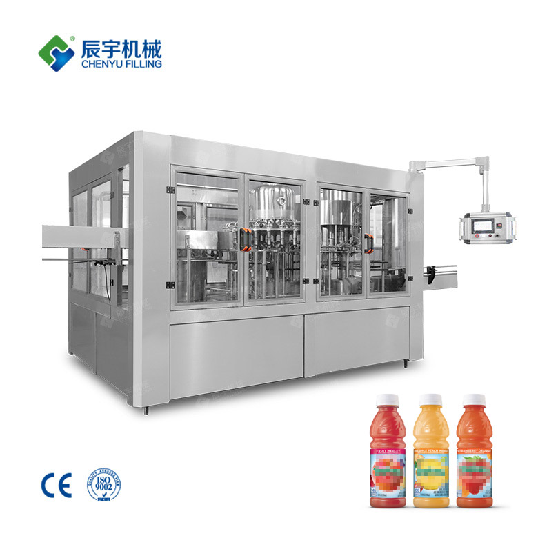 RCGF 24-24-8 Fruit Juice Filling Machine