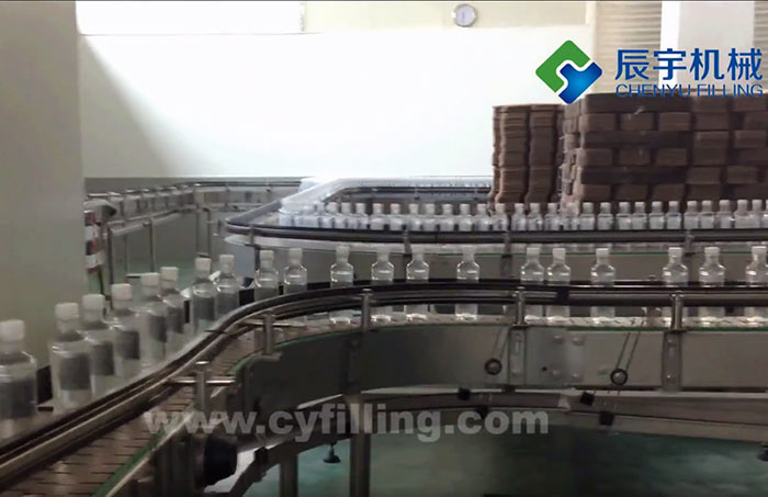 Mineral Spring Water Filling Machine