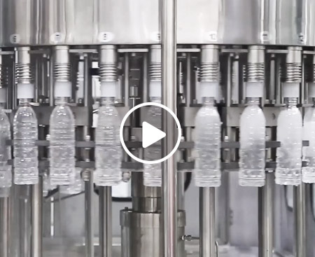 Small Bottle Clean Water Filling Machine Video