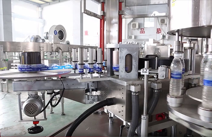 Small Bottle Clean Water Filling Machine