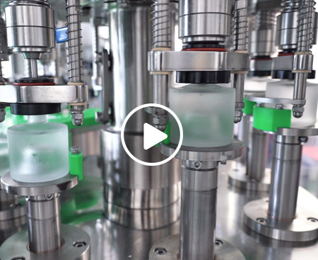 Small Bottle Liquor Filling Machine Video
