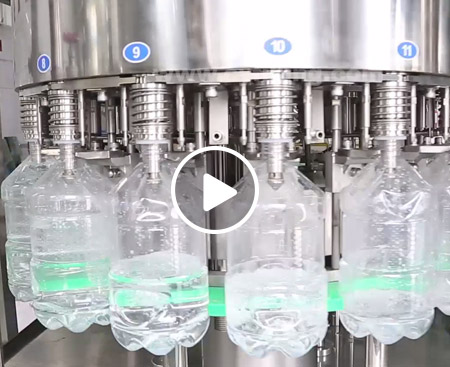 5L Drinking Water Filling Production Line Video
