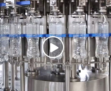 Carbonated Beverage Filling Production Line Video