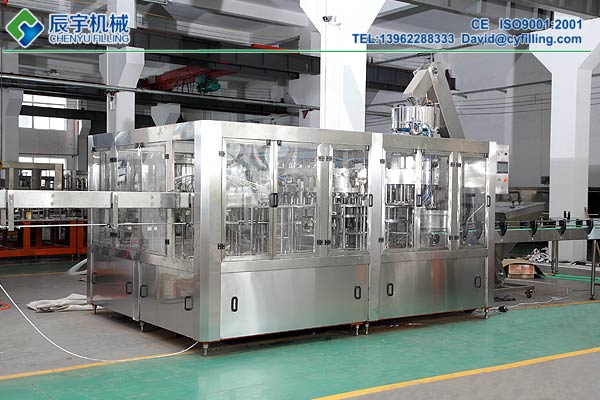 Carbonated Beverage Filling Machinery
