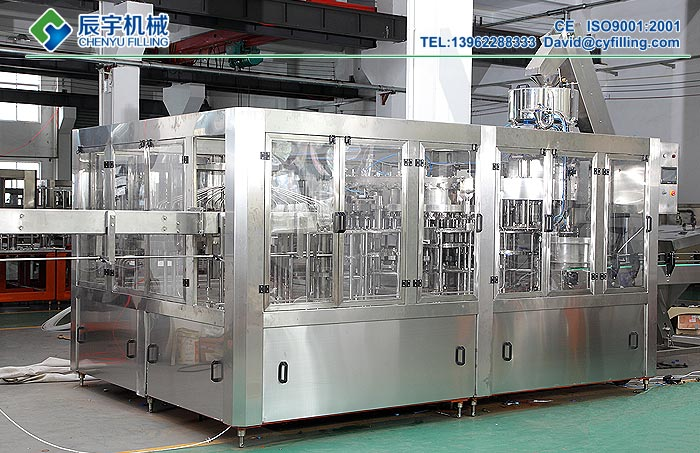 Carbonated-Drinks-Filling-Machine