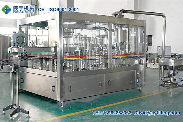 Glass Bottle Water Filling Machines