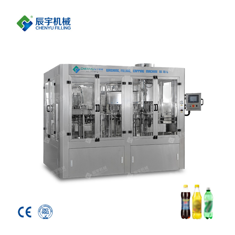 DCGF18-18-6 Carbonated Drinks Filling Machine