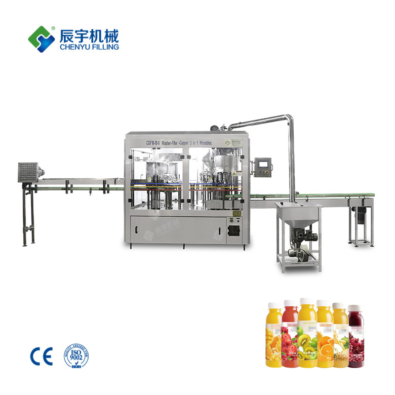 Automatic Juice Bottling Machine