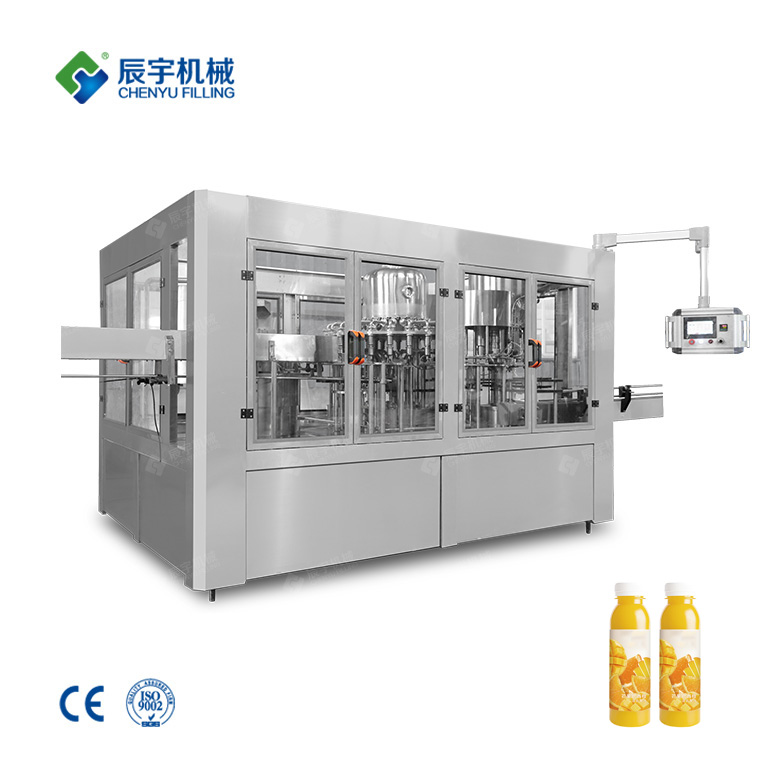 Small Juice Filling Machine