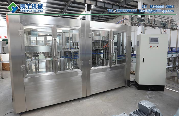 Packaged-Drinking-Water-Filling-Machine