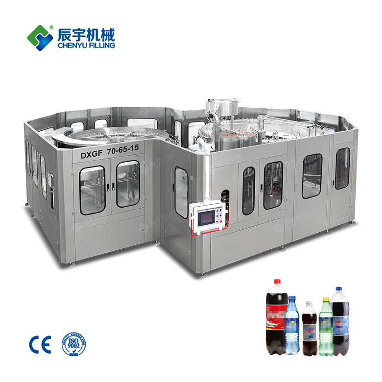 Carbonated Beverage Bottling Machine