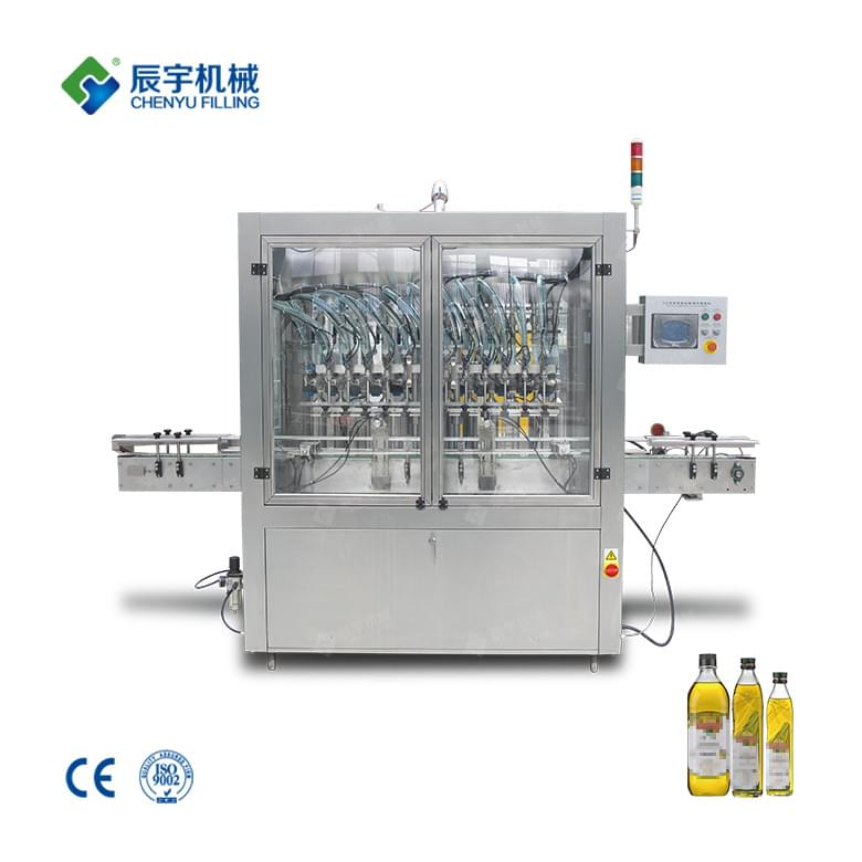 12 Heads Olive Oil Filling Machine