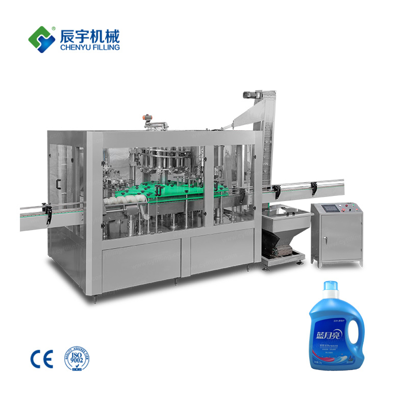 3-In-1 Thick Liquid Filling Machine