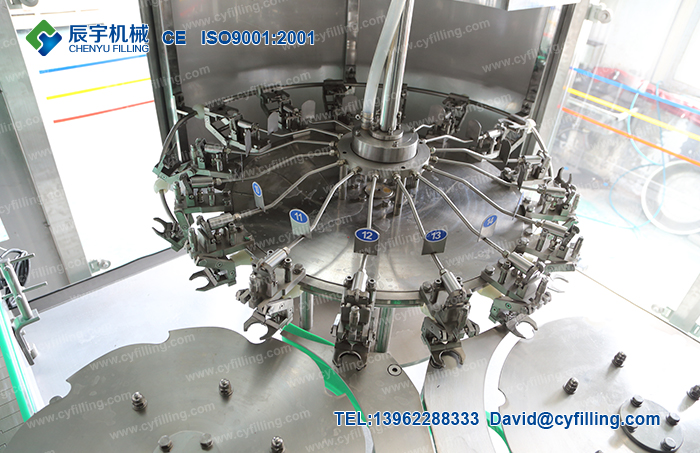 Bottled water filling production equipment-3