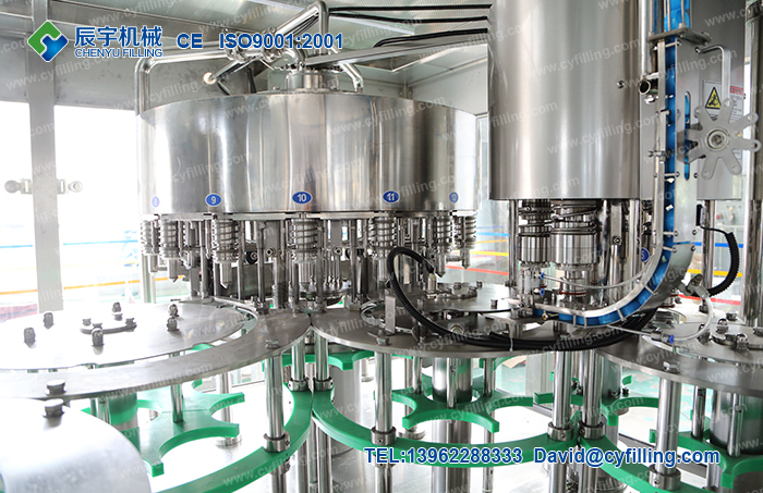 Bottled water filling production equipment-4