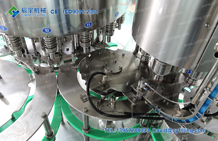 Bottled water filling production equipment-5