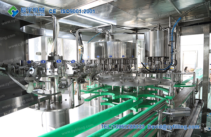 Bottled water filling production equipment-6
