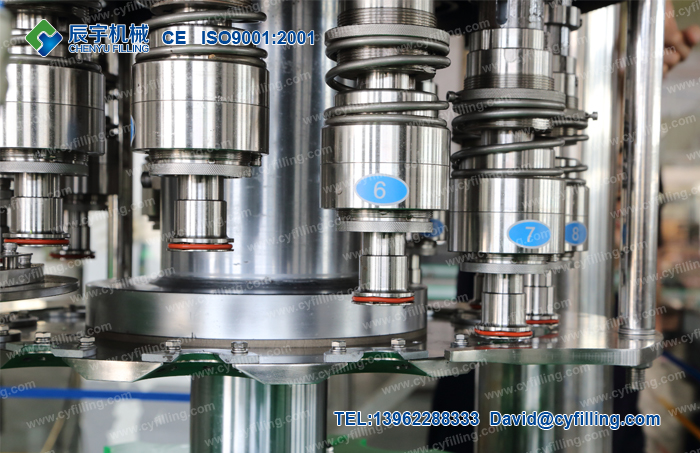 Small carbonated beverage production line-2
