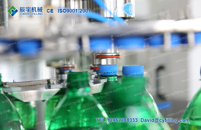 Small carbonated beverage production line-4