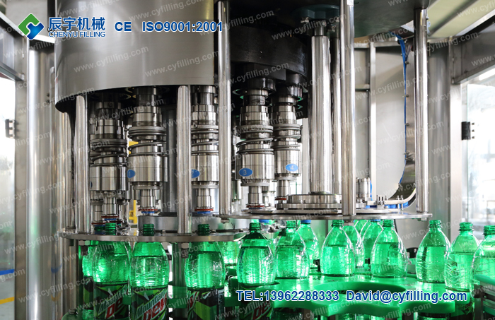 Small carbonated beverage production line-5