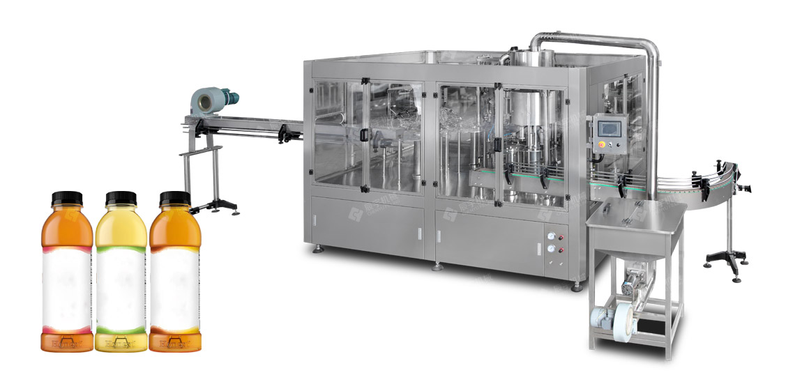 RCGF24-24-8 Automatic Tea Beverage Filling Line-water filling machine|water bottling machine|bottle filling machine|Suzhou CHENYU Packing Machinery Co., Ltd.