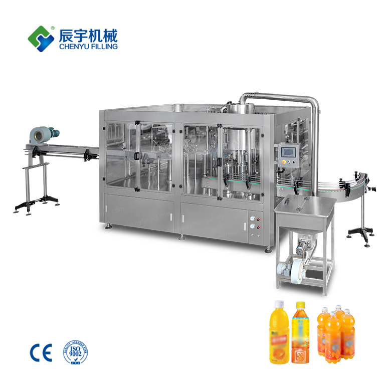 RCGF24-24-8 Automatic Tea Beverage Filling Line