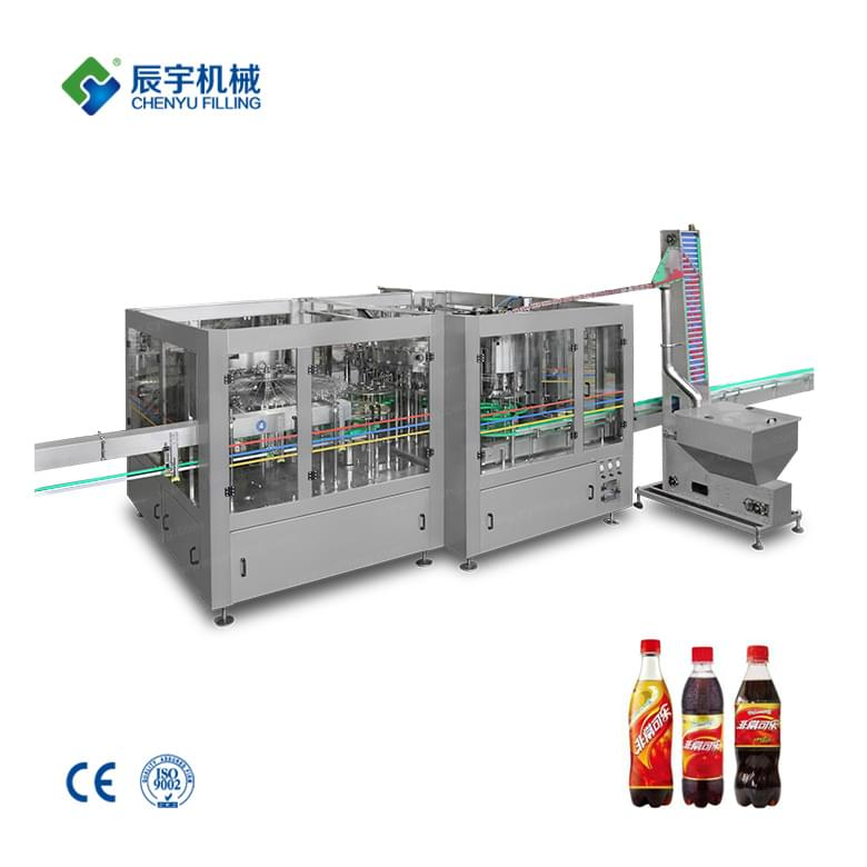 DCGF40-40-12 PET Bottle Carbonated Beverage Production Line