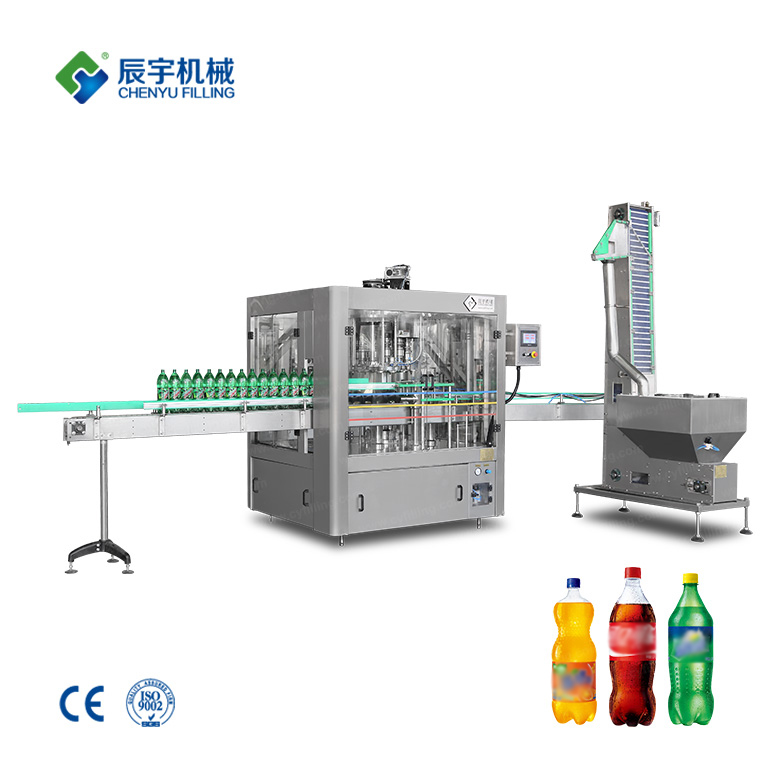 Bottled cola filling production line
