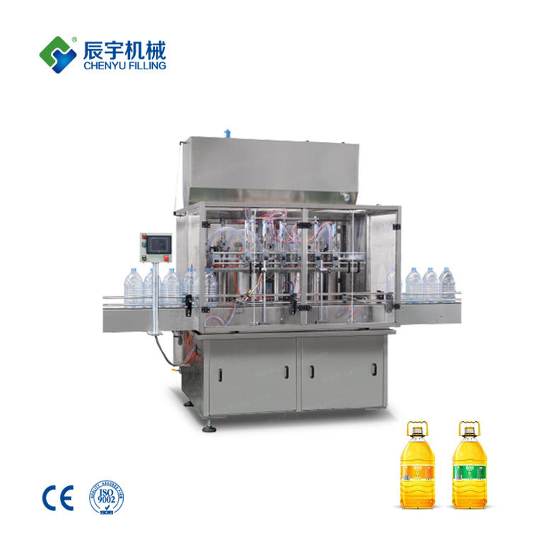 6 Heads Edible Oil Filling Production Line