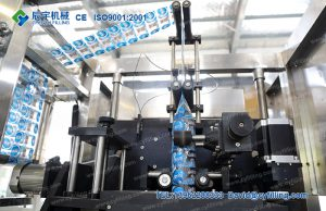 Automatic Double Heads Sleeve Labeling Machine-4
